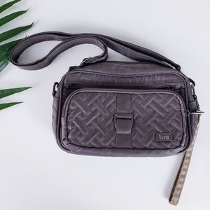 Lug Carousel RFID Quilted Crossbody Bag